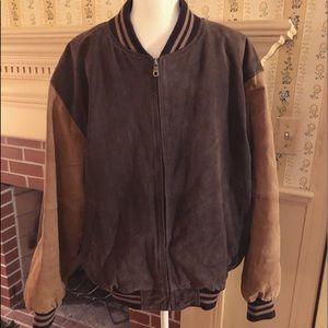 Varsity Brand Vintage Suede 1980s Letterman Jacket